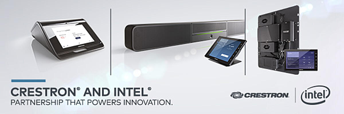 See how Intel speaks about Crestron